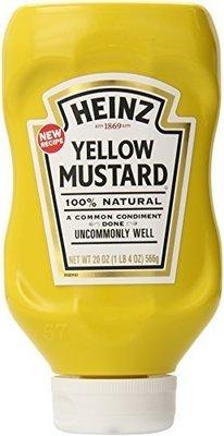Heinz Yellow Mustard (566g)