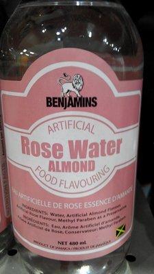 Benjamin's Rose Water Almond Flavor (480ml)