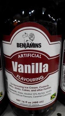 Benjamin's Vanilla (480ml)