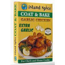 Island Spice Coat & Bake Garlic Chicken (224g)