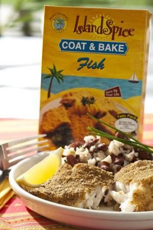 Island Spice Coat & Bake Fish (224g)