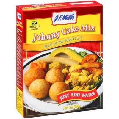 J.F. Millls Johnnny Cake Mix Box (500g)