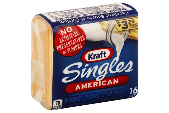 Kraft Cheese Singles (16 slices)