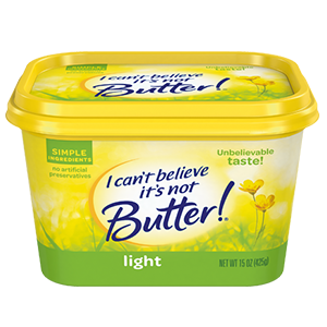 I Cant Believe Its Not Butter Light (445g)