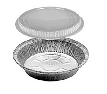 Aluminum Containers W/Cover (9