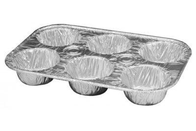 Aluminum Muffin Tins (6 Cups)