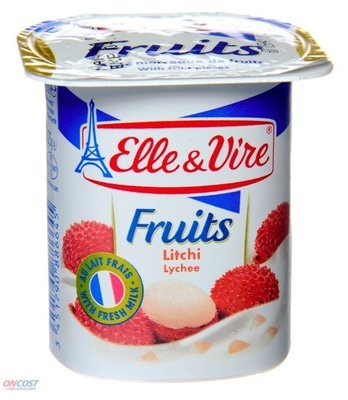 Elle & Vire Fruits Lychee