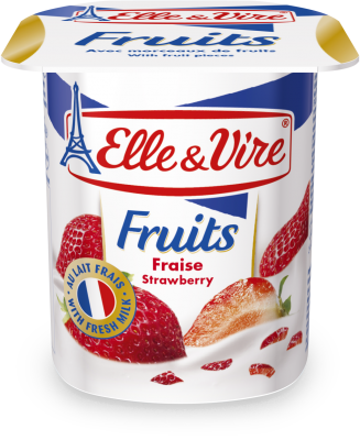 Elle & Vire Fruits Strawberry