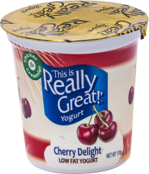 This Is Really Great Yogurt Cherry Delight
