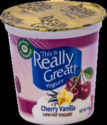 This Is Really Great Yogurt Cherry Vanilla