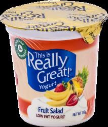 This Is Really Great Yogurt Fruit Salad