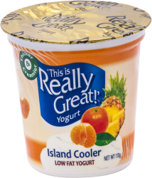 This Is Really Great Yogurt Island Cooler