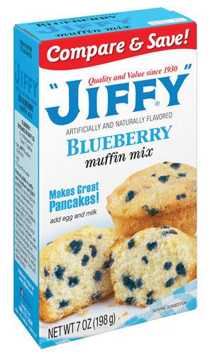 Jiffy Blueberry Mix (198g)