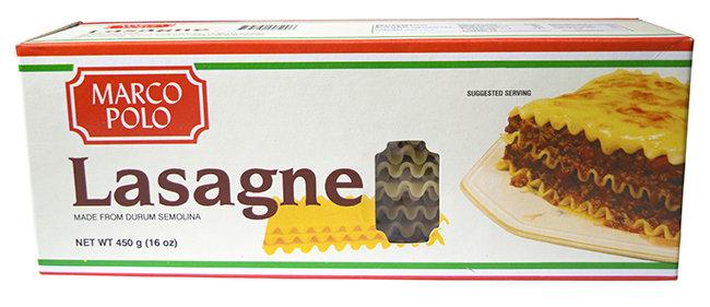 Marco Polo Lasagne (450g)