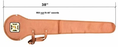 Sword case, Imitation Leather/w KT emblem  (37