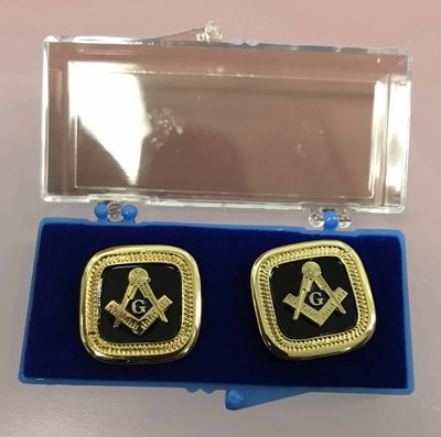 Blue Lodge ONYX Cufflinks