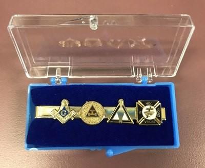 Large Emblem KYCH tie clasp