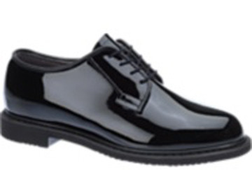 Bates high gloss leather military shoes (Pair)