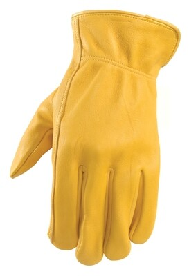 Leather Buff Gloves (plain-no emblem)