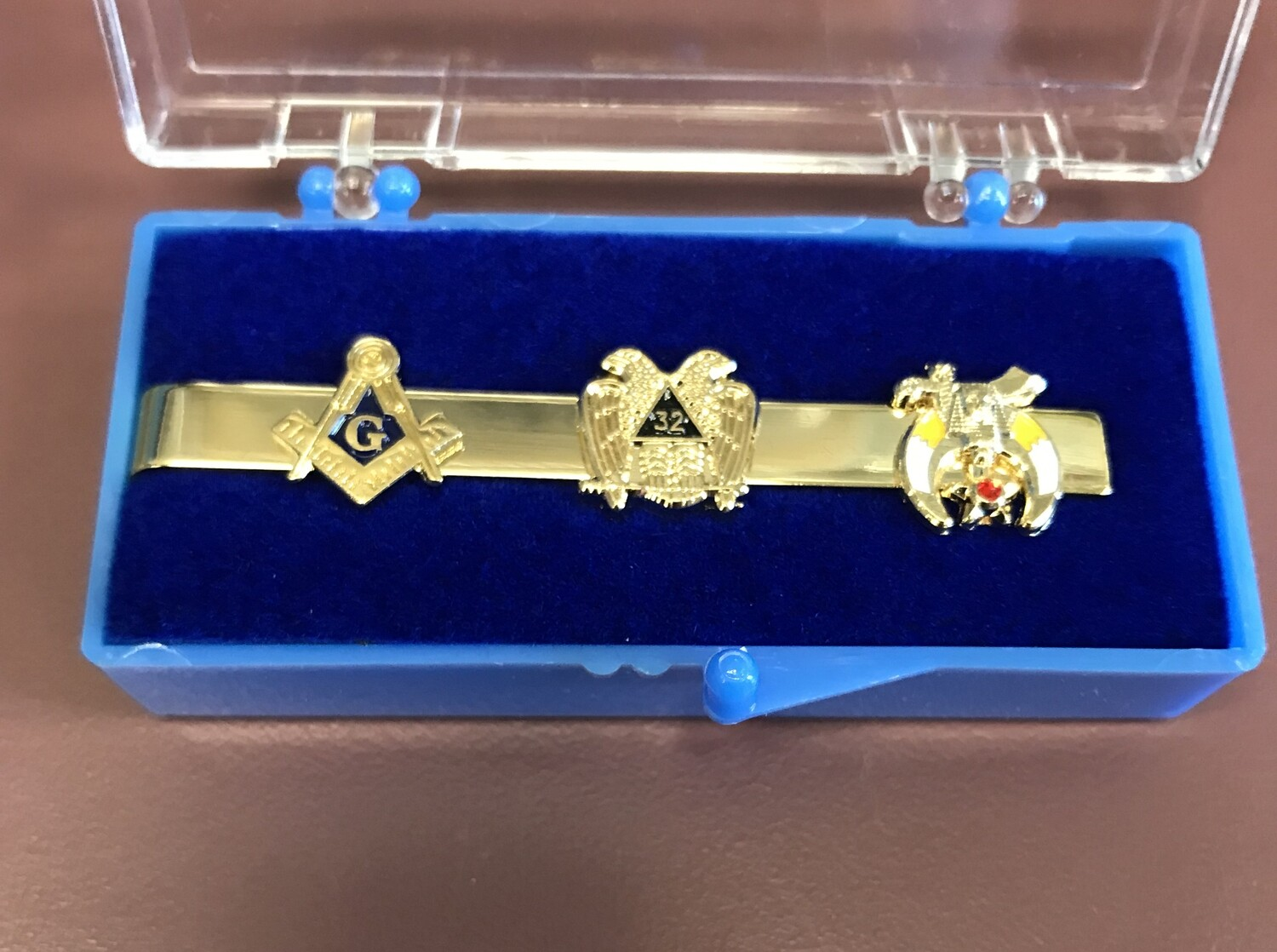 Masonic- Scottish Rite-Shrine Tie Clasp