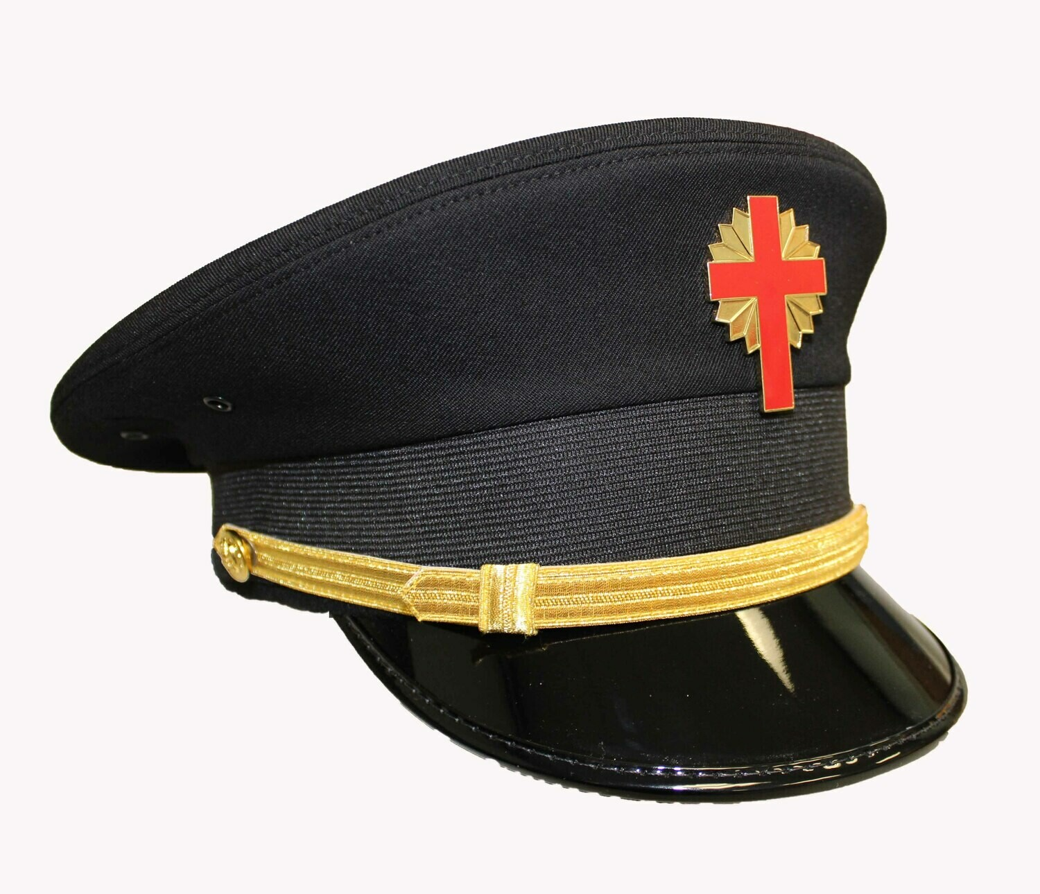 Sir Knight Black Battalion Cap  (Cap Badge not included)