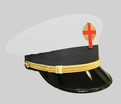 Sir Knight White Battalion Cap (cap badge not included)