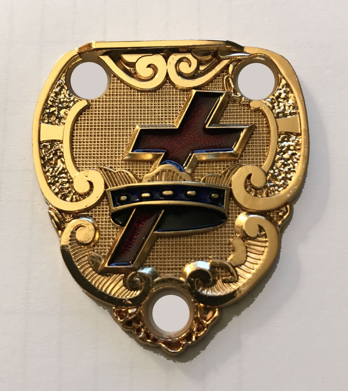 Belt Slings Retainer (gold or Silver)