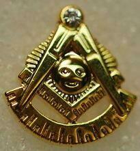 Lapel Pin Past Master 1/2