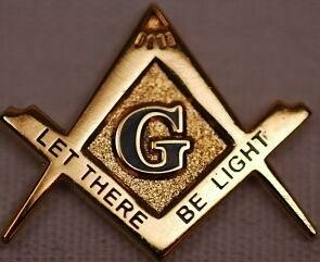 Lapel Pin S&C late there be light   7