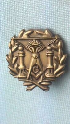 Lapel Pin Masonic Lodge  9