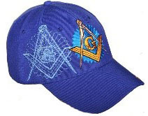 Masonic Ball Caps two emblems