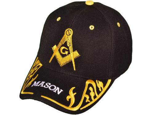 Masonic Ball Caps (embroidered bill)