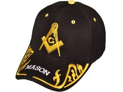 Masonic Ball Caps (embroidered bill)