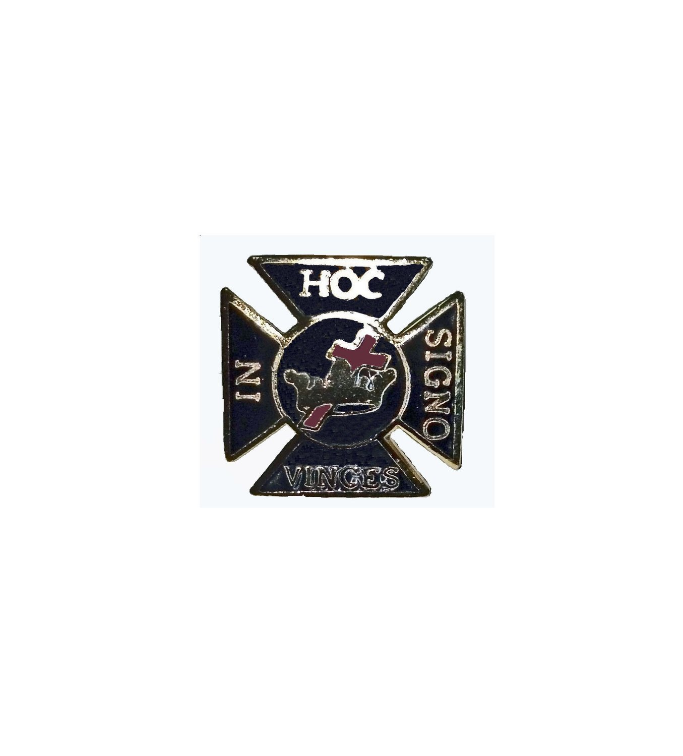 In-Hoc-Signo-Vinces lapel pin