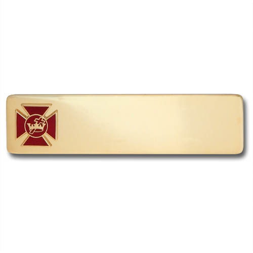 Grand Commandery Officer Name Plate