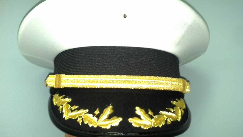 Battalion Cap (Past Grand Commander w/Gold Bullion on bill)