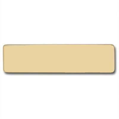 Brass Name Plate (Name only NO emblem)