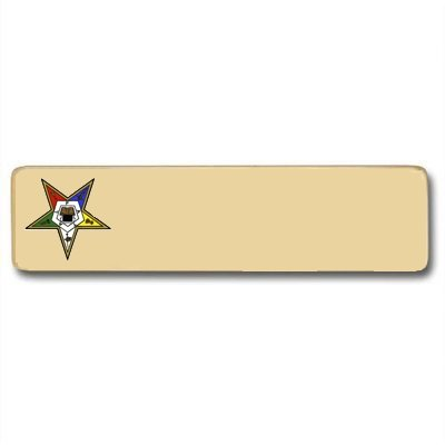 Eastern Star Name Tag