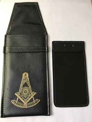 Leather jewel case (single jewel)