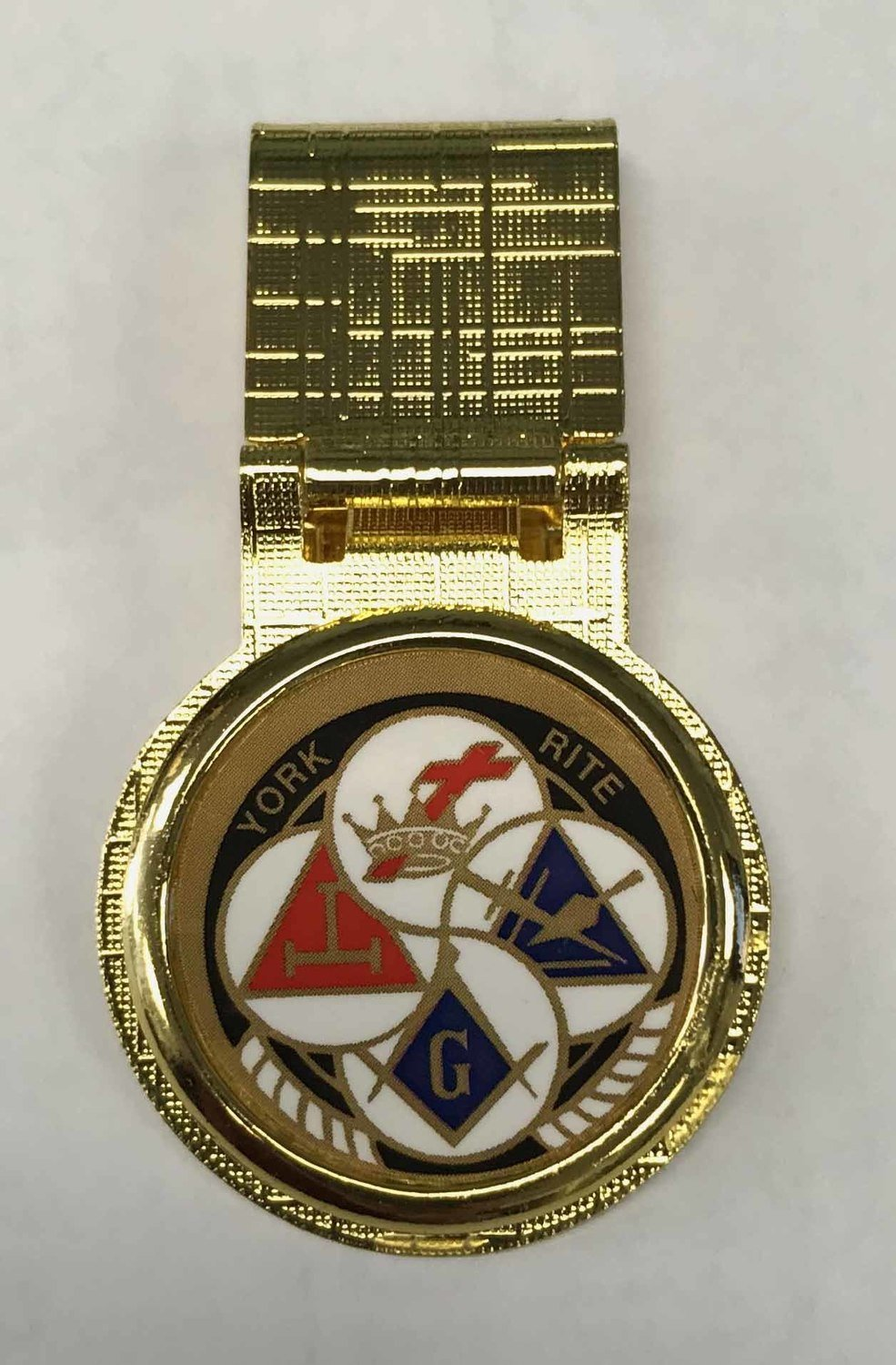 York Rite Money Clips