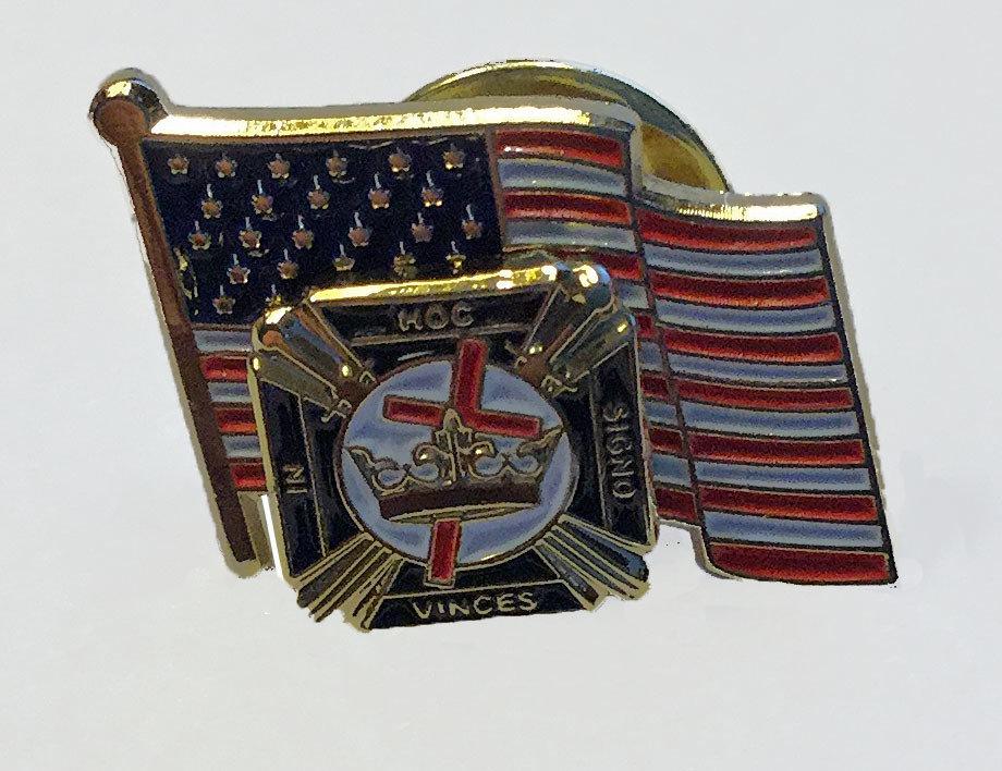KnightTemplar/Flag pin