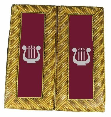 Grand Organist Shoulder Boards