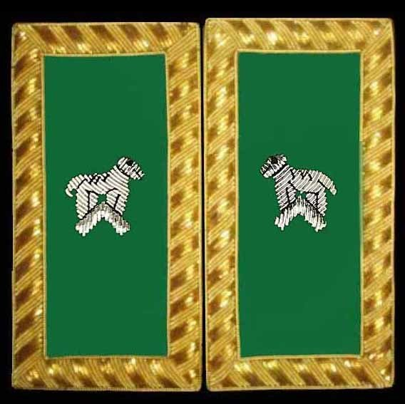 Embroidered Shoulder Rank Generalissimo (Gold Bullion) pair