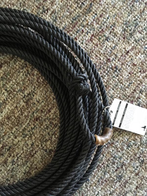 9.5 Black Poly 3 strand