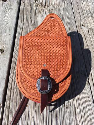 Stamped Saddle Bag