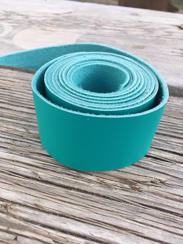 Turquoise Chap Hornwrap