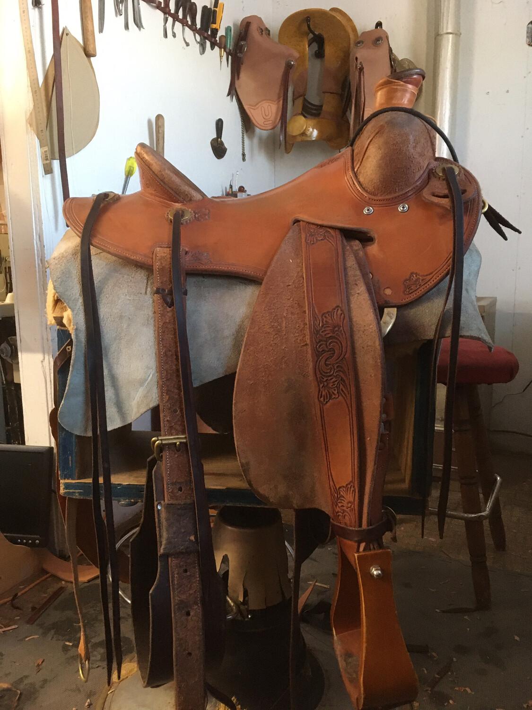 """14 1/2"""" Used Saddle"""