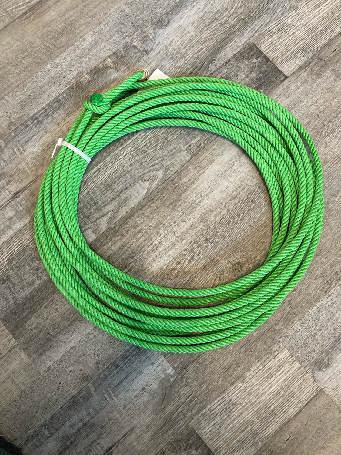 9.5 Lime Green 4 strand Poly
