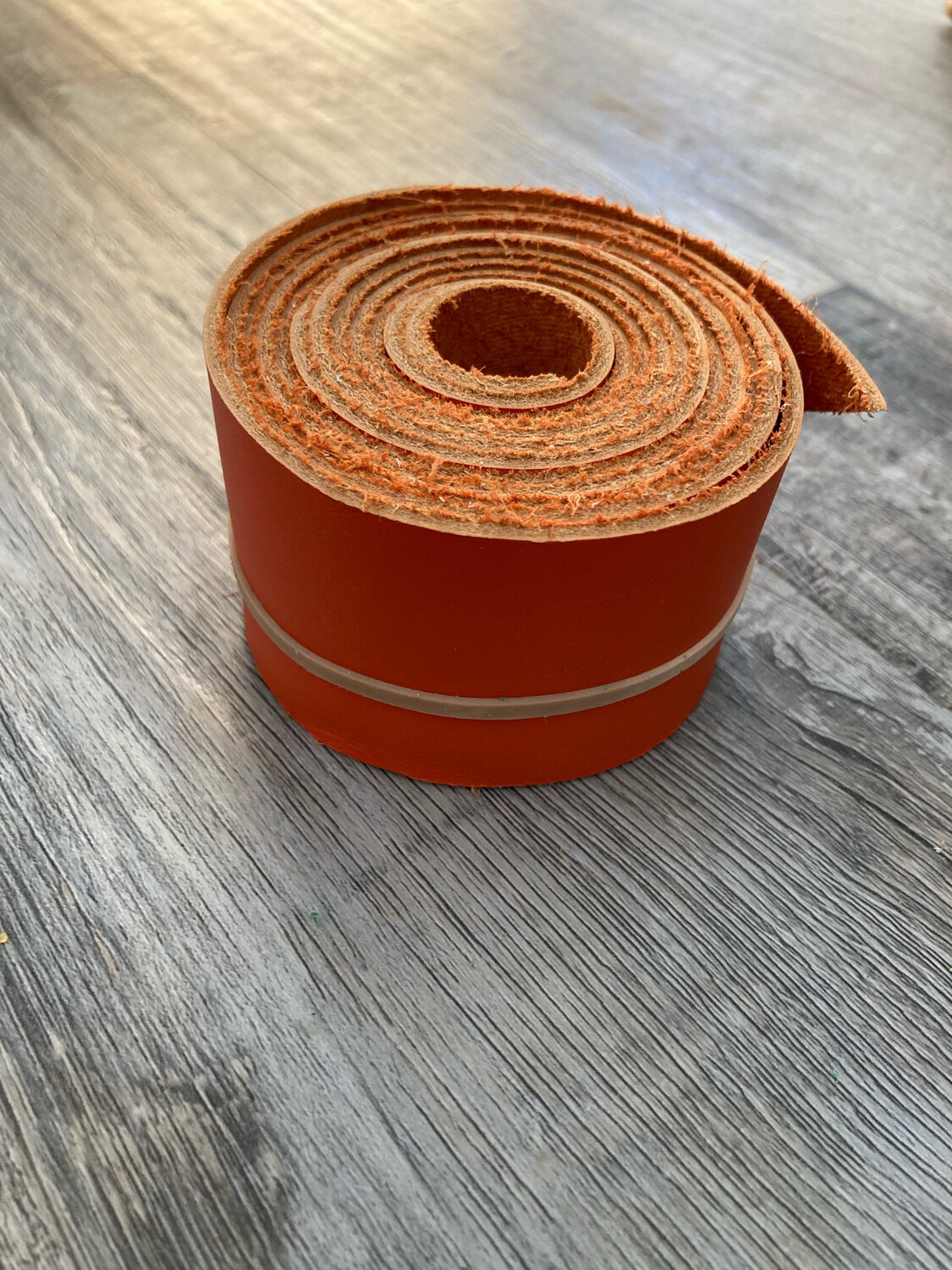 Orange Chap Hide Hornwrap