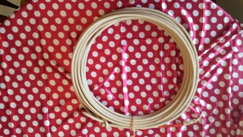 Waxed Cotton Rope 5/16
